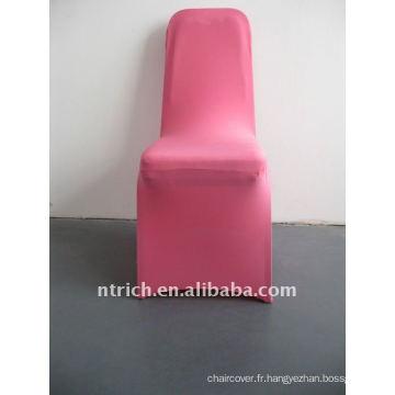 housse de chaise en spandex rose / rose vif, CTS681, pour toutes les chaises