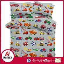Kinder Bettwäsche Großhandel, bedruckte Baumwolle Kinder Bettbezug Set Brauch