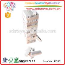 Pädagogische große hölzerne Blocks Stapel Spielzeug
