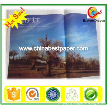 150g White Color Coated Gloss Paper