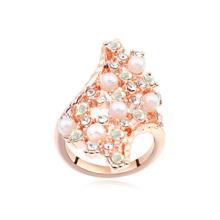 Mais vendidos de cristal austríaco anéis de cristal anel de pedra