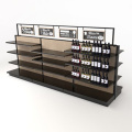 4 Tier Wooden Store Pop Fixtures Display Rack
