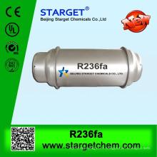 Gaz réfrigérant R236FA en cylindre rechargeable en acier