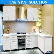 L Shape High Gloss Lacquer Kitchen Furniture