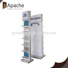 ISO9001:2000 train useful hanging wallet display stand