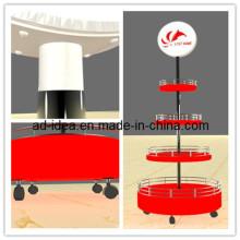 Light Box Display Stand & Einstellbare Leuchtkasten Display Rack & Rack Display mit Lightbox