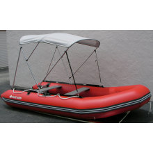 New & Longer 4-Bow Deluxe Sun Canopy Bimini Top