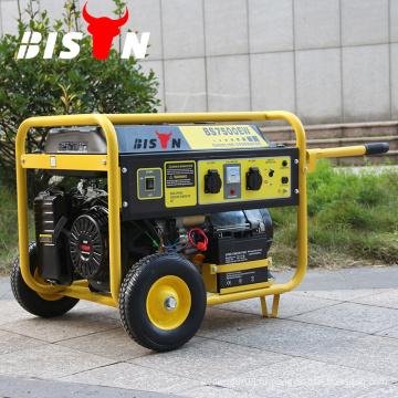 BISON (CHINA) 5kw трехфазный генератор переменного тока генератора, бесшумный небольшой электрический генератор Denyo, китайский генератор 5.5kva
