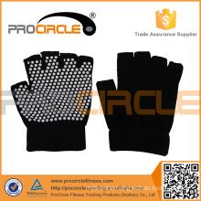 ProCircle Non Slip Traning Black Yoga Gloves