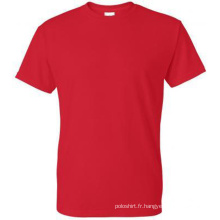 Hot Fashion Bulk Order T-shirt en coton 100% coton