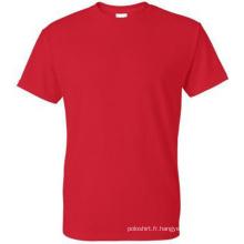 Hot Fashion Bulk Order T-shirt en coton 100% coton