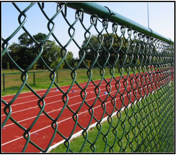 pvc chainlink fence