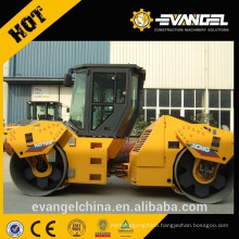 High quality cheap price double drum 10 ton vibratory road roller for sale