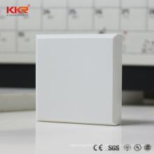 Panneau de mur d'aspect de marbre de surface solide d'Italie a modifié la feuille de surface solide