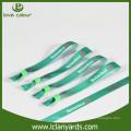 Kundenspezifische Werbegeschäftsförderung Konzert Textil Armbänder