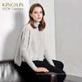 Western Retro Style Beautiful 100% Cashmere Women Pullover High Class Ladies Knitted Sweater