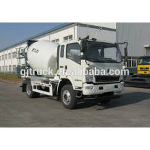 HOWO 6 wheels drive concrete mixer truck for 3-6 cubic meter