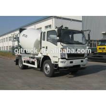 Caminhão do misturador concreto da movimentação de HOWO 4X2 para o medidor 3-6 cúbico