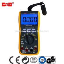 Multimètre numérique avec test de capacitance 20mF avec pince de test de courant 600A WH5000A