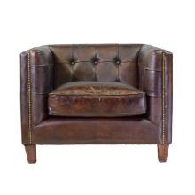 Америка одноместная кожаное кресло (1#)