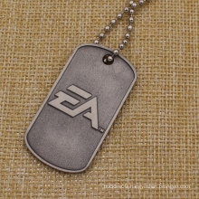 Promotion Custom Metal Dog Tag with Necklace