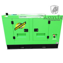 Fábrica de vendas diretas 20kVA Super silencioso água refrigerada Geradores Diesel
