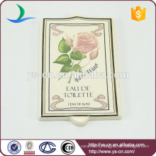 toilette indicator board with flower and word