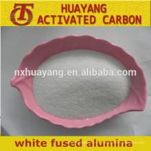 Precio de fábrica Blanco corindón de pulido alúmina fundida