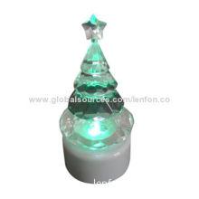 LED Acrylic Christmas Tree Holiday Decoration Light
