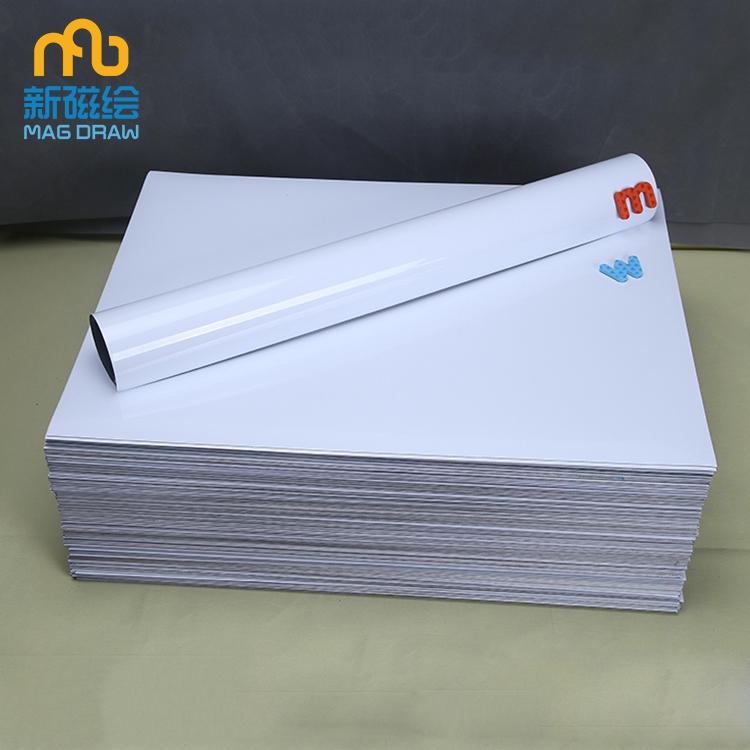 Magnetic whiteboard sheet