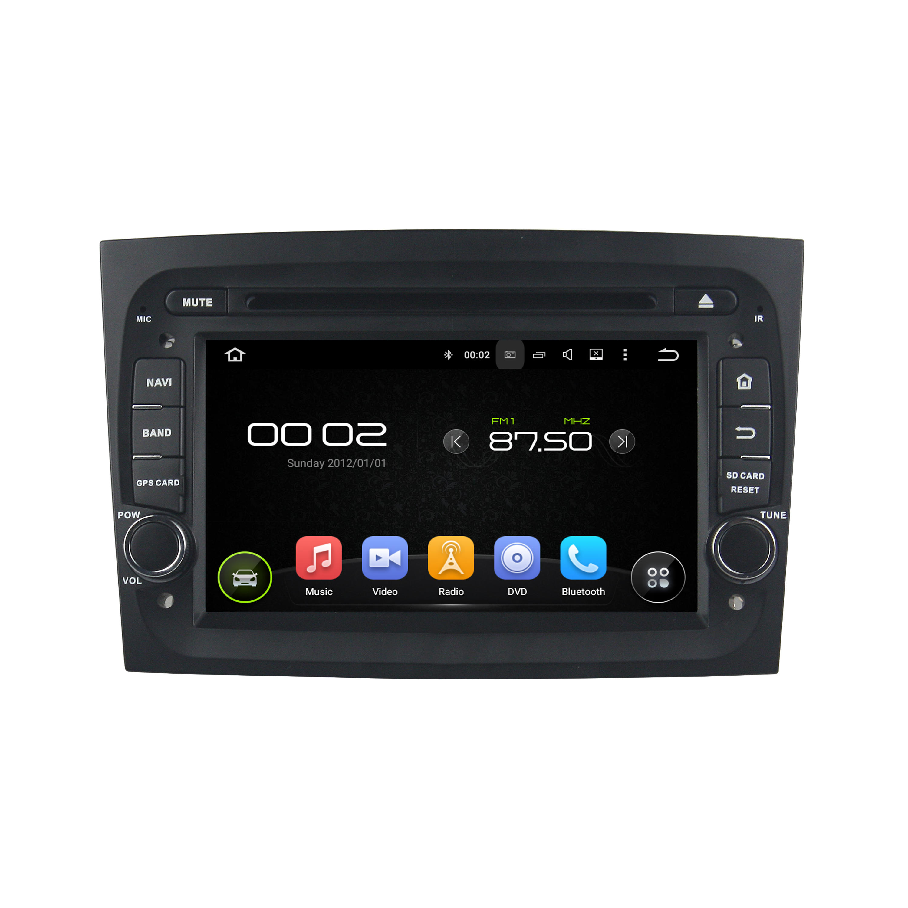 DOBLO 2016 7 inch Car DVD Player for Fiat series