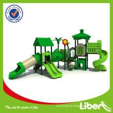 Dschungel Wald Serie China Günstige Outdoor Plastik Spielplatz / Dschungel Gym