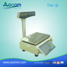 15/20/30kg price printing digital food scale for shops