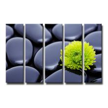 Großhandelsblumen-Leinwand-Druck für Raum-Dekoration