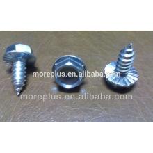 Hecho en Taiwán tornillos de serraje de acero inoxidable Tornillos especiales de roscar tornillos de cabeza de arandela