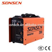 Nova condição e DC Tipo de motor arc mma 200 soldador inversor