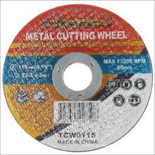 Accesorios alimentación corte Super delgado rueda Metal abrasivo acero inoxidable