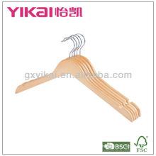 Вешалка для одежды из натурального дерева
