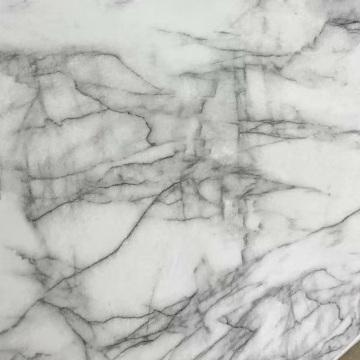 Marble Effect Surface Leather for Lady Handbags Wallets