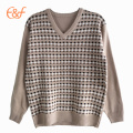 2016 new design customized knitted korean sweaters model