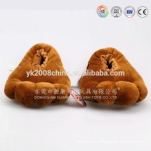 Microwave heated slippers ,hot plush microwave slipper