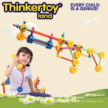 Venda quente de plástico de segurança de blocos de construção de brinquedos