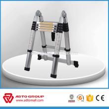 Tangga aluminum teleskopik,ladder teleskopik,fold up aluminium ladder
