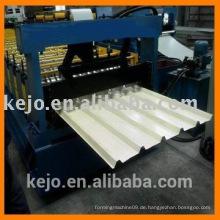 Alibaba Express Farbe Stahl Dach / Wand Panel verschiedenen Profil Doppelschicht Rollenformmaschine