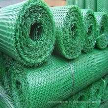 Malla de malla de alambre de plástico / jaula de malla de alambre de plástico de ganado