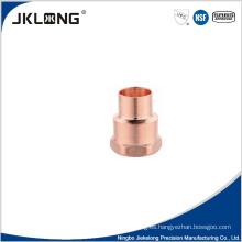 Adaptador hembra de cobre forjado J9022 Adaptador de tubería de cobre de 1 pulgada