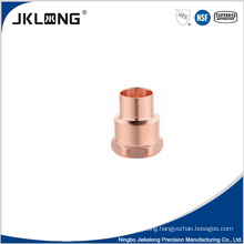 J9022 forged copper female adapter copper pipe wye fittings