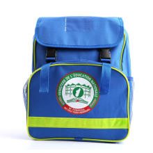 La mochila de alta calidad de la ayuda del gobierno embroma el bolso de escuela