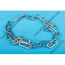 Aparejo de cadena de enlace largo DIN galvanizado DIN 766