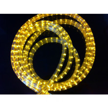 led rope light flat three wires fexible strip garden light pool light